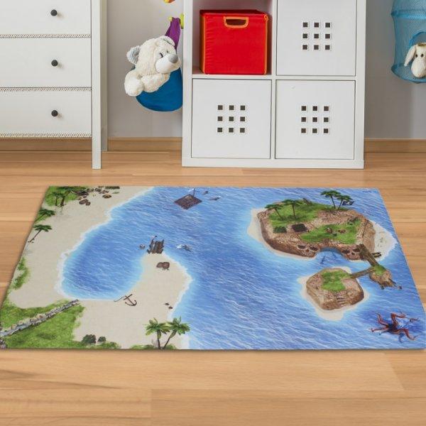 Spielmatte Pirat 150 x 100 cm