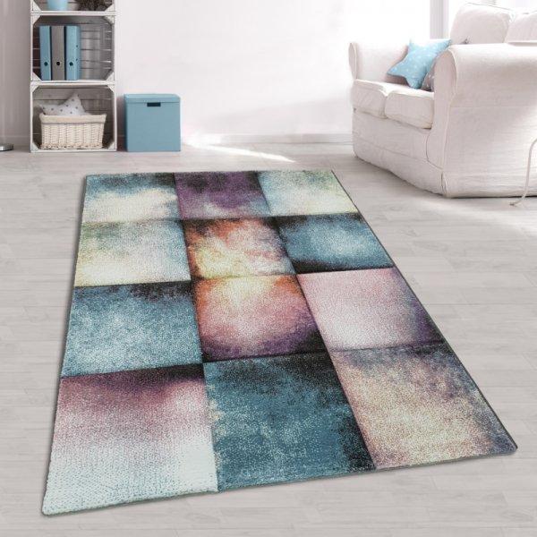 Designer Jugendteppich Pastell Multicolor