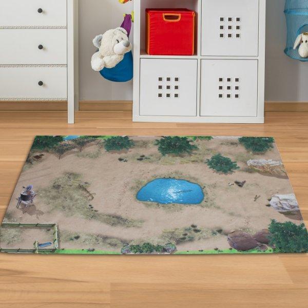 Spielmatte Safari Wüste Serengeti 150 x 100 cm