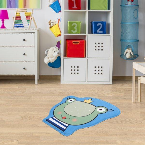 Kinderteppich Frosch 70x60 cm