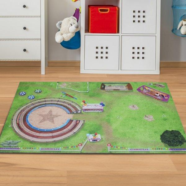 Spielmatte Zirkus Wiese 150 x 100 cm
