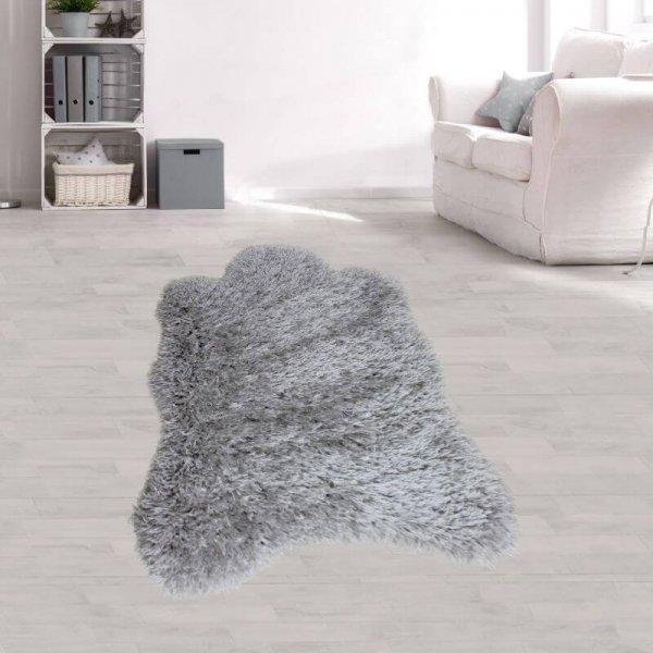 Teppich Fell Grau