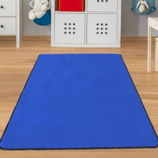 Kinderteppich Blau