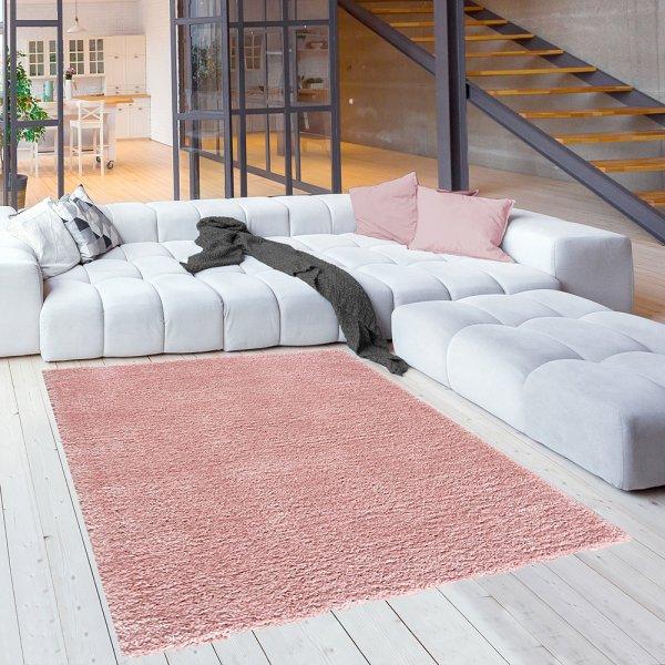 Teppich für Kinderzimmer Kuschlweicher Teppich Rosa