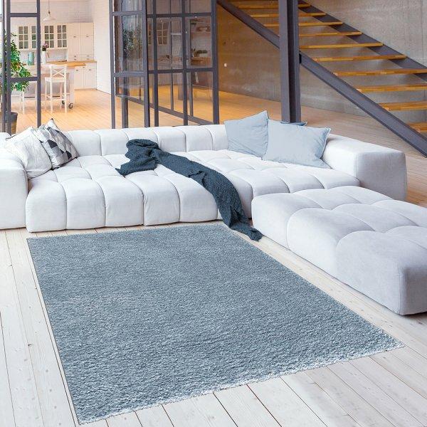 Teppich für Kinderzimmer Kuschlweicher Teppich Blau