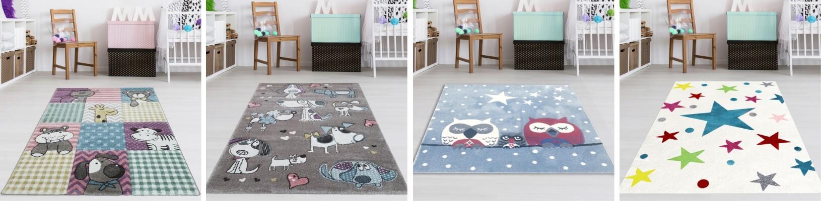 Kinderteppiche für Jungen und Mädchen
