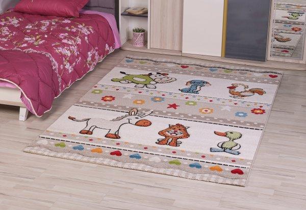 Teppich Lustige Tiere