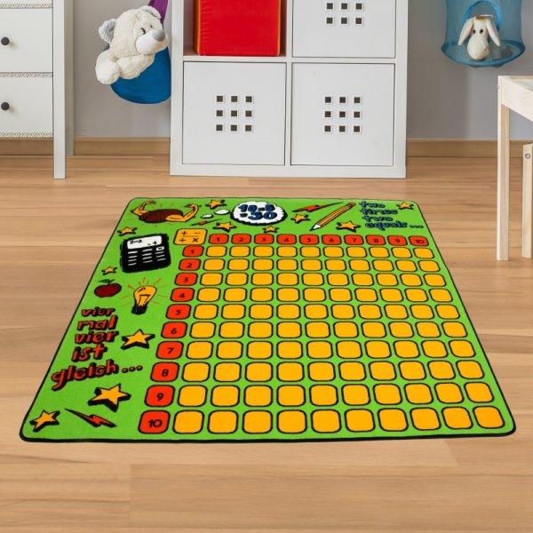 Zahlenteppich - Spielteppich Zahlen