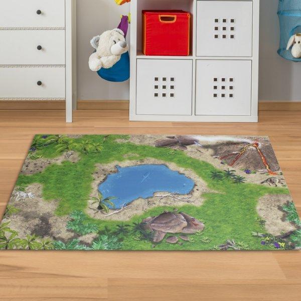 Spielmatte Dinosaurier 150 x 100 cm