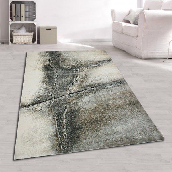 Designer Teppich für Jugendzimmer Naturfarben