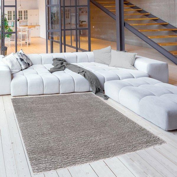 Teppich für Kinderzimmer Kuschlweicher Teppich Silber