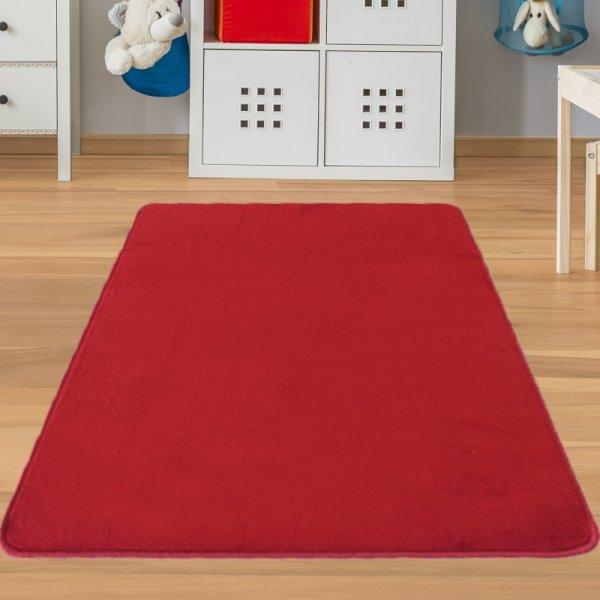 Kinderteppich Rot