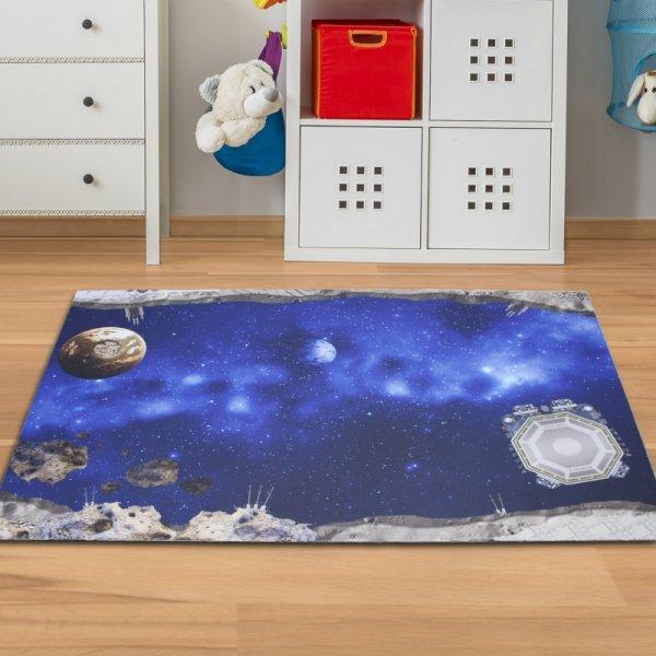 Spielmatte Weltraum 150 x 100 cm
