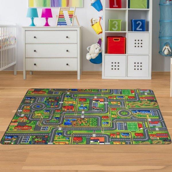 Kinderteppich Straße - Spielteppich in Groß & Klein