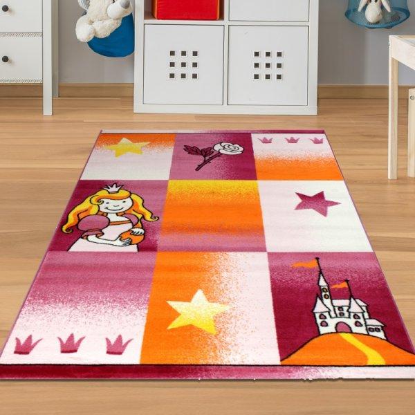 Teppich Prinzessin & Schloss